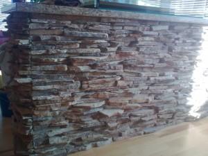 Přírodní obkladový kámen do interiéru